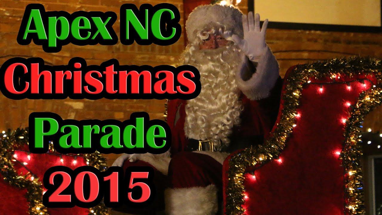 Apex Christmas Parade 2020 Apex North Carolina Christmas Parade   YouTube