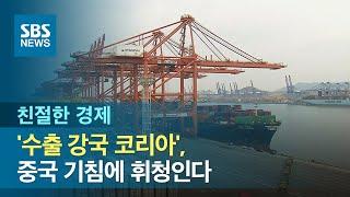 '수출 강국 코리아', 중국 기침에 휘청인다 / SBS…