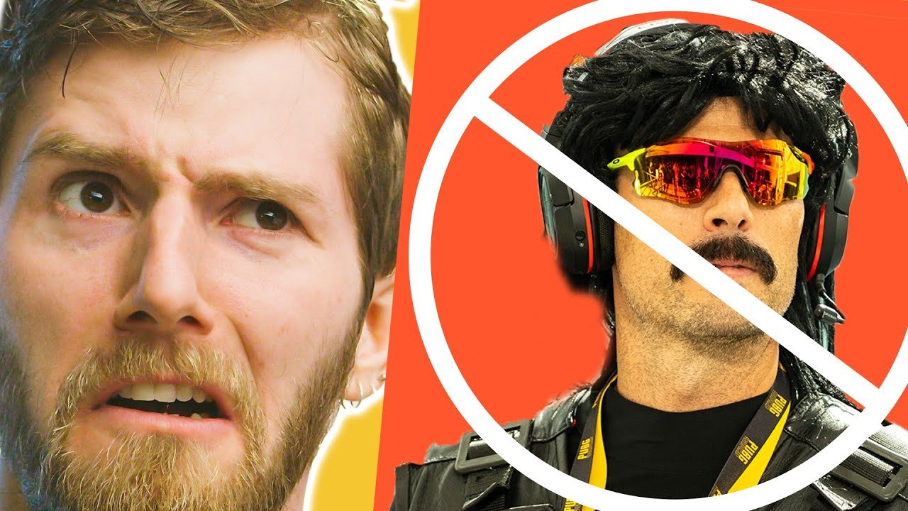 Dr Disrespect banned!?