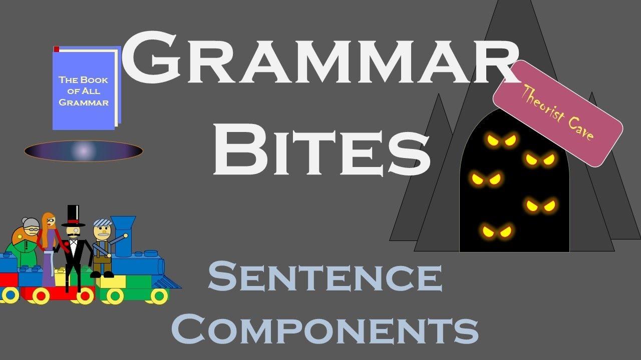 Grammar Bites | Sentence Components (YouTube Script)