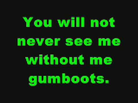 The Gumboot Song