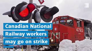 CN conductors' union gives 72-hour strike notice as talks continue