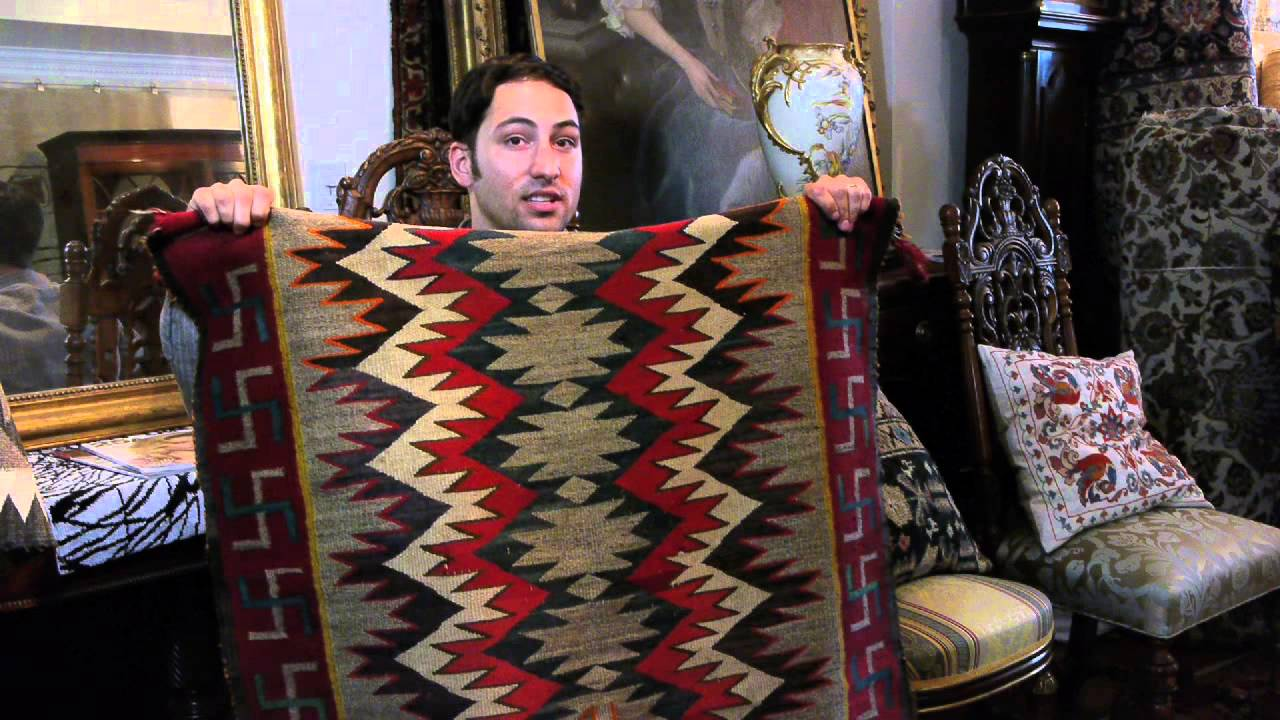 Symbol Meanings On Navajo Rugs Rug Education Youtube