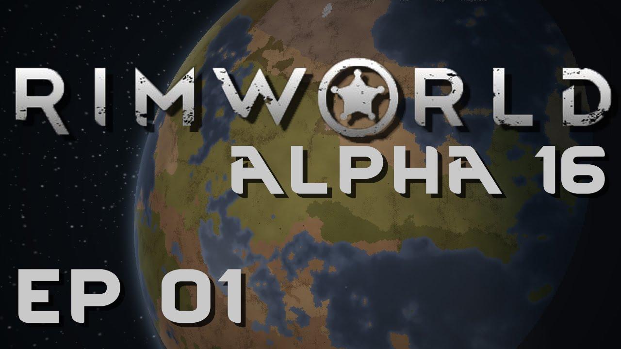 RIMWORLD ALPHA 16   Space Caravan   Let's Play RimWorld! - YouTube