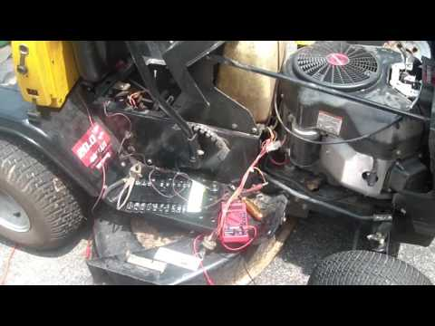 Yard Machines Tractor starter issues, diagnosis, interlock bypass,