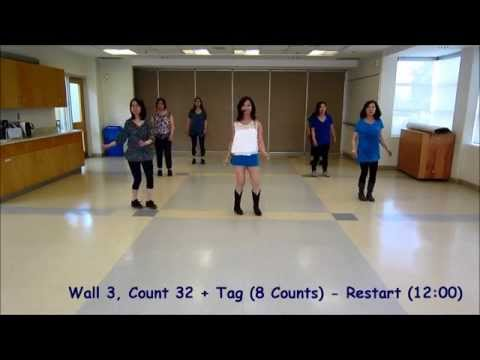I Saw Her Standing There - Line Dance (Dance & Teach)