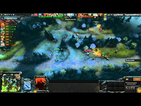 The Summit 2  Na'Vi vs Moscow 5, русские комментаторы, 27 10 2014
