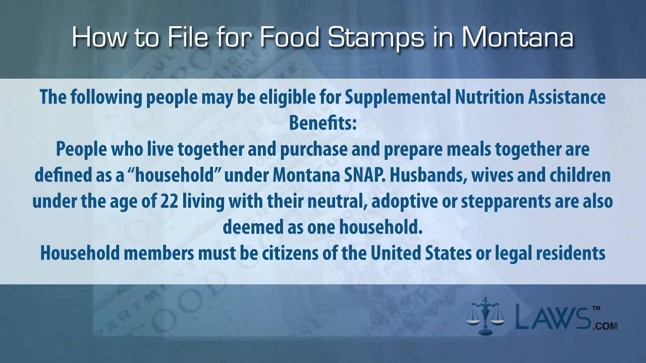 Food stamps montana recipes food how to file for food stamps montana ccuart Images