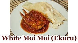 White Moi Moi (Ekuru) - Suitable for Vegetarians