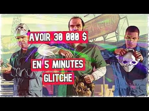 [GLITCH] 32 000 $$ EN 5 MINUTE GTA 5 ONLINE