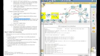 Repeat youtube video CCNA2 4 0 Erouting OSPF PT Practice SBA 2012 Part 3