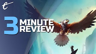 The Falconeer   Review in 3 Minutes (Video Game Video Review)