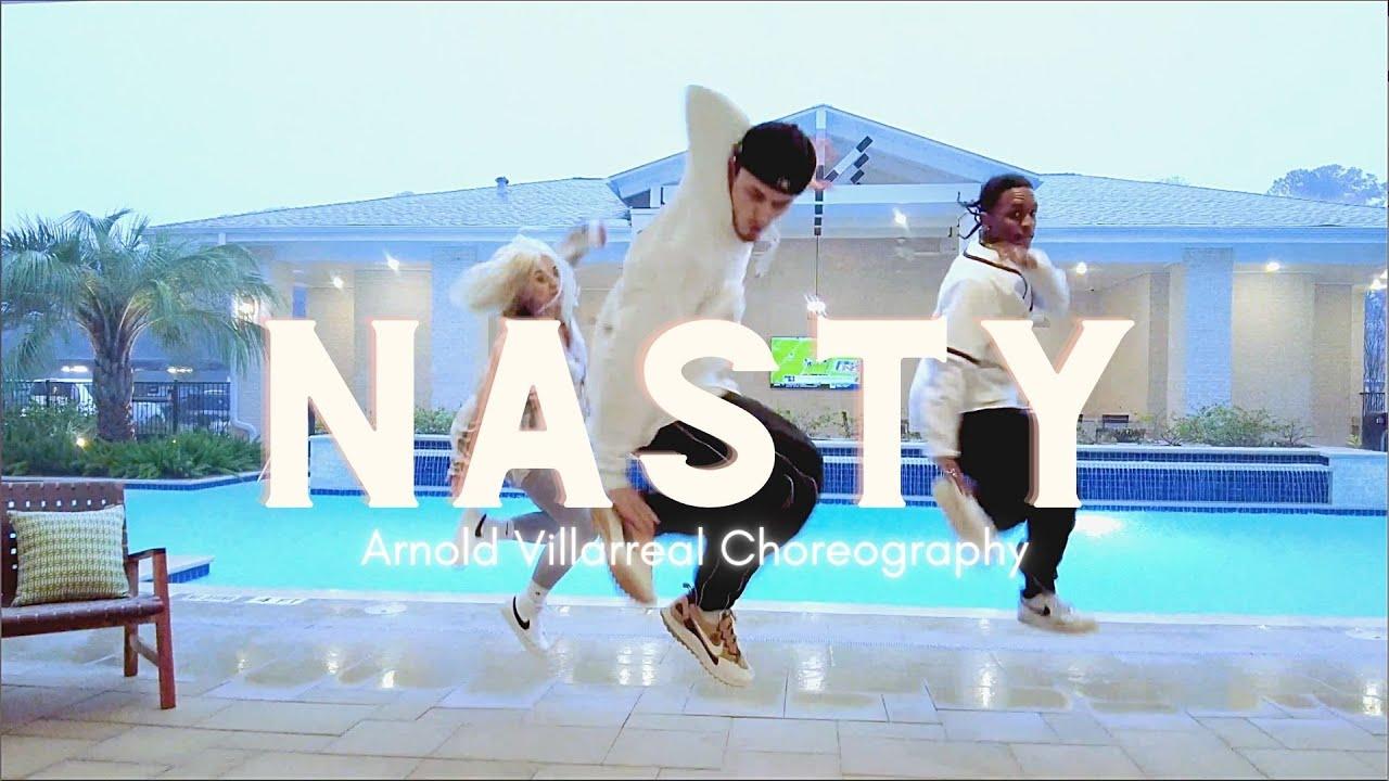 Download Ariana Grande Nasty | Arnold Villarreal Choreography