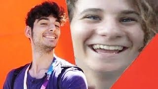 13 Year Old Kid STALKS Ice Poseidon - VidCon 2017 (Day 2)
