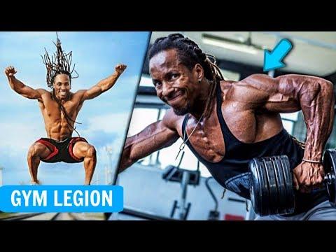 100% Natural VEGAN BODY - Torre Washington | Workout Motivation