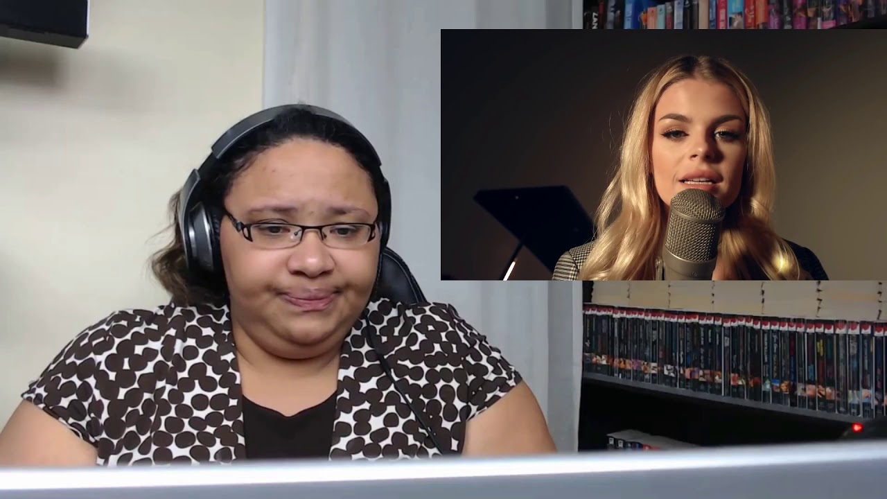 Shallow (Cover By Davina Michelle) Reaction - YouTube