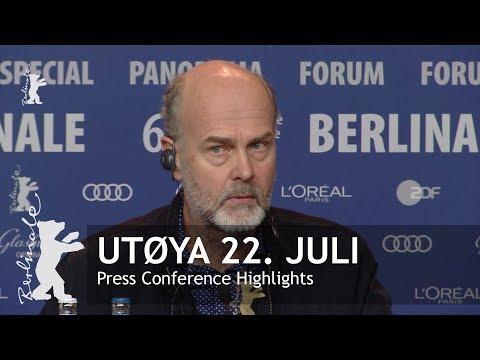Utøya 22. juli   Press Conference Highlights   Berlinale 2018