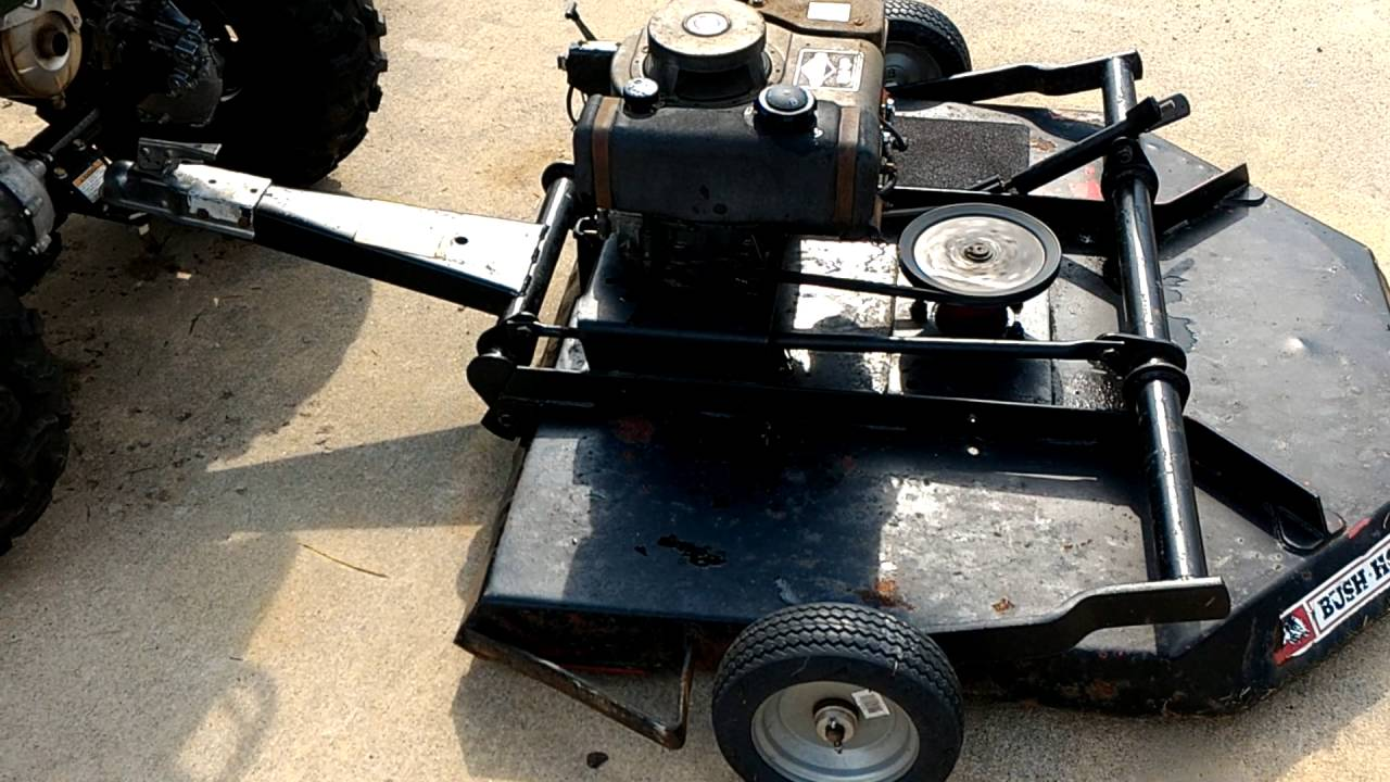 Bush Hog GT42 trail mower