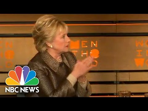 Hillary Clinton Called For Attack On Syrian Airfields Hours Before Attack Launched | NBC News