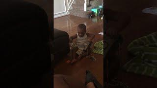 Baby Bolts with Mom's Money || ViralHog