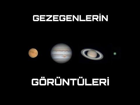 Gezegenlerin Teleskop Ile Goruntuleri Youtube