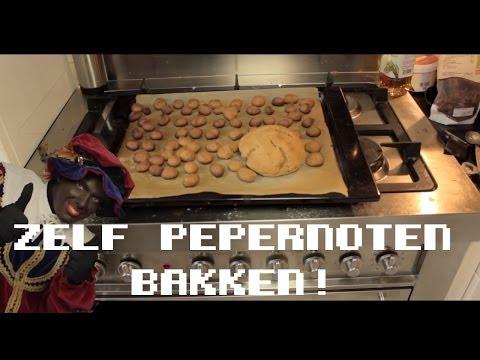 Zelf pepernoten bakken