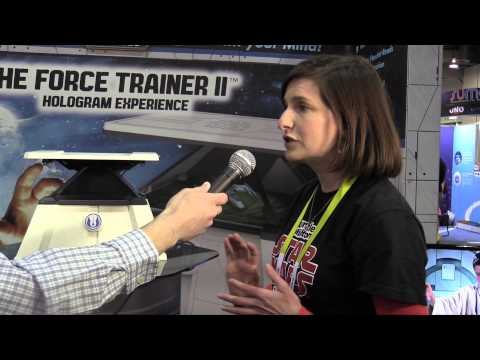 CES 2015 First Look: Star Wars Force Trainer II Hologram Mind Control Experience By Uncle Milton