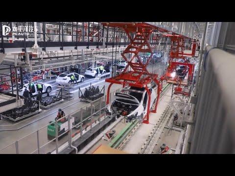 Inside Tesla's Gigafactory Shanghai - Exclusive Media Tour/interview [Part 1]