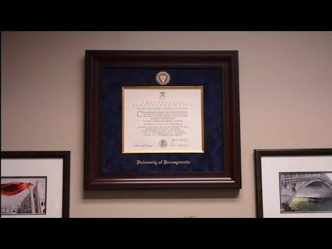Presidential Diploma Frame   Church Hill Classics