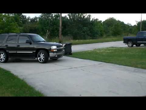 2005 chevy tahoe flowmaster dual side exhaust 23 drop youtube publicscrutiny Images