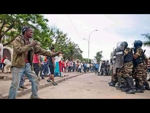 No Third Term For Conde: Guinea Police Fatally Clash With Protesters
