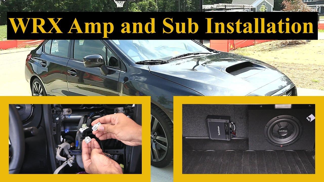 Wrx Aftermarket Amp And Sub Installation Sound System Upgrade Pt 4
