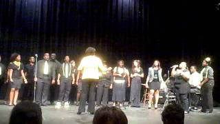 "gsw gospel choir sings ""closer"""
