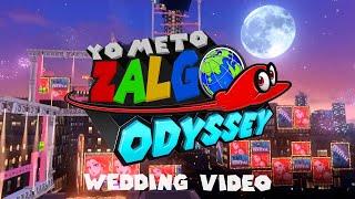 ゲーム実況者が実際に結婚式で流したムービーがこちらです【マリオオデッセイ風自作…