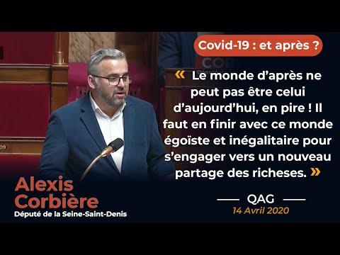 """""""Le monde d'après ne peut pas être celui d'aujourd'hui, en pire !"""" QAG coronavirus d'Alexis Corbière"""