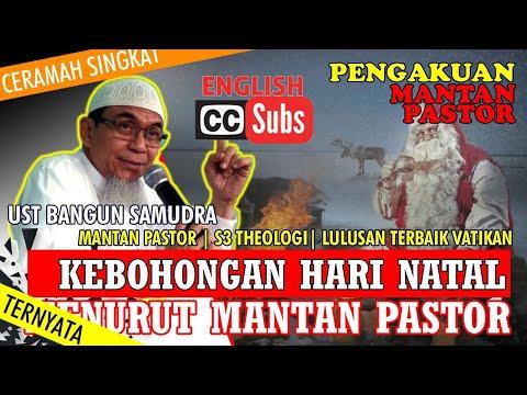 NATAL Menurut Mantan Pastor | Lulusan Terbaik Vatikan | Ust BANGUN SAMUDRA (With English Subtitle)