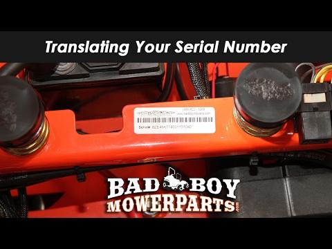 Translating Your Serial Number