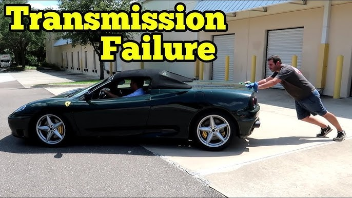 We Fixed The Salvage Ferrari 360 Then It Broke Down 10 Minutes Later Youtube