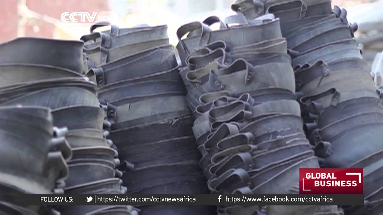 Egyptian village thrives from recycling tyres