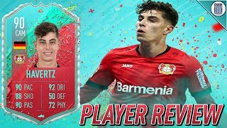 THE RISING STAR! 90 FUT BIRTHDAY HAVERTZ PLAYER REVIEW! - FIFA 20 ULTIMATE TEAM