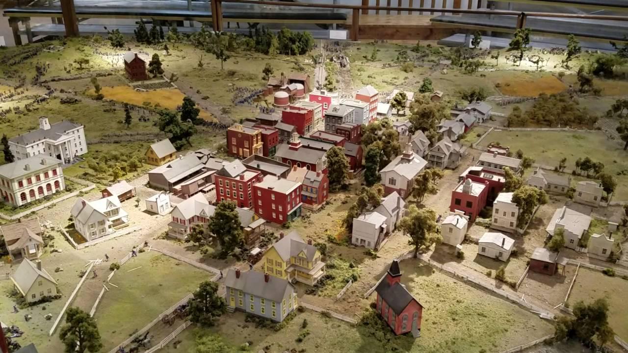 Battle Of Gettysburg Diorama Youtube