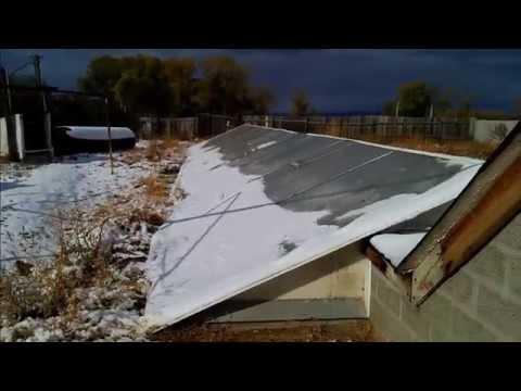 видео: теплица термос и аномальная погода в октябре