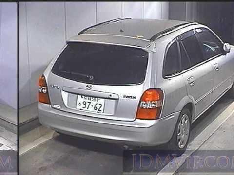 mazda familia s-wagon, 2000 год характеристика