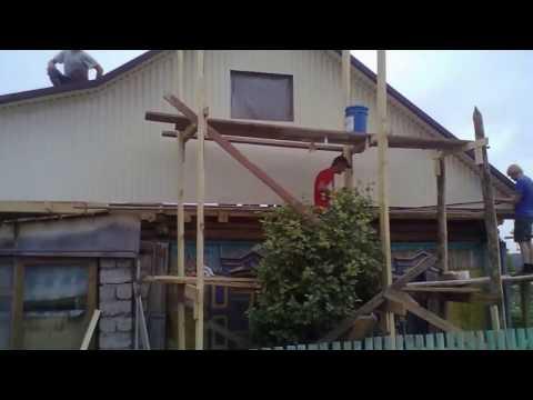 Капитальный ремонт старого дома ч.1