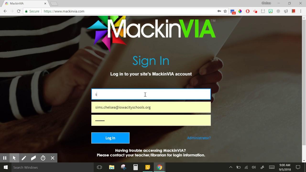 Mackin Via for eBooks and Audiobooks