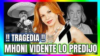 ! MHONI VIDENTE ! PREDICCION CUMPLIDA EL MUNDO ARTISTICO DE LUTO !