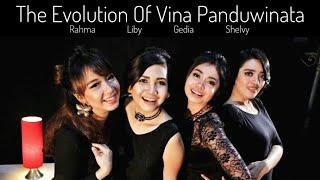 Gedia, Shelvy, Rahma and Liby - The Evolution Of Vina Panduwinata