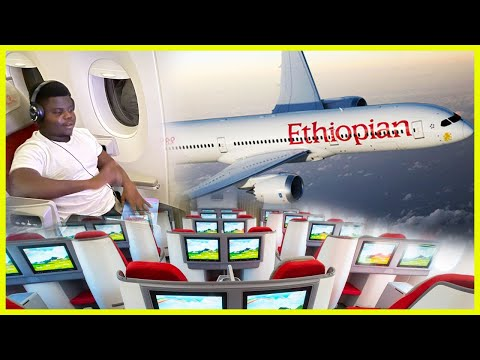 My First Ever Business Class Experience With Ethiopian Airlines!