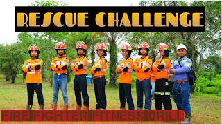 Rescue challenge (fire Fighter Fitness Drill)