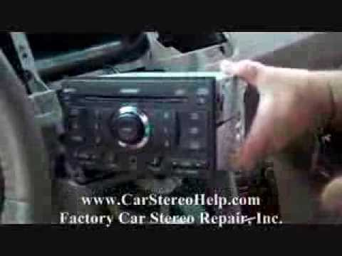 How To Nissan Maxima Bose 2007 2008 Car Stereo Removal Replace Repair You